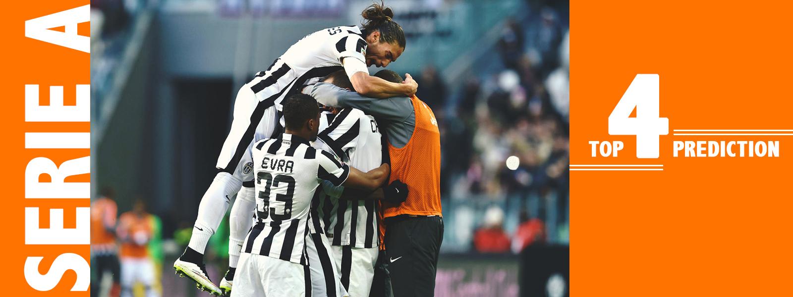 Serie A Top 4 Teams Prediction