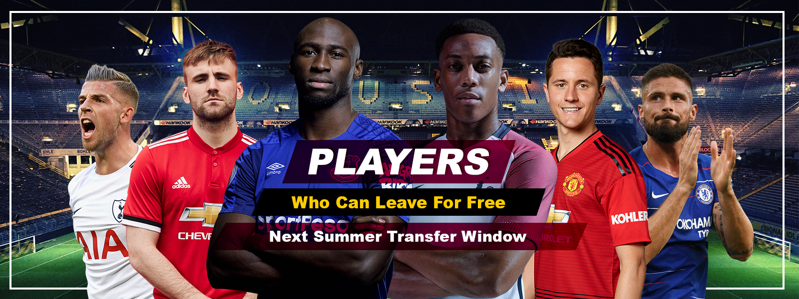 7 Soccer Players Who Can Leave For Free Next Transfer Window