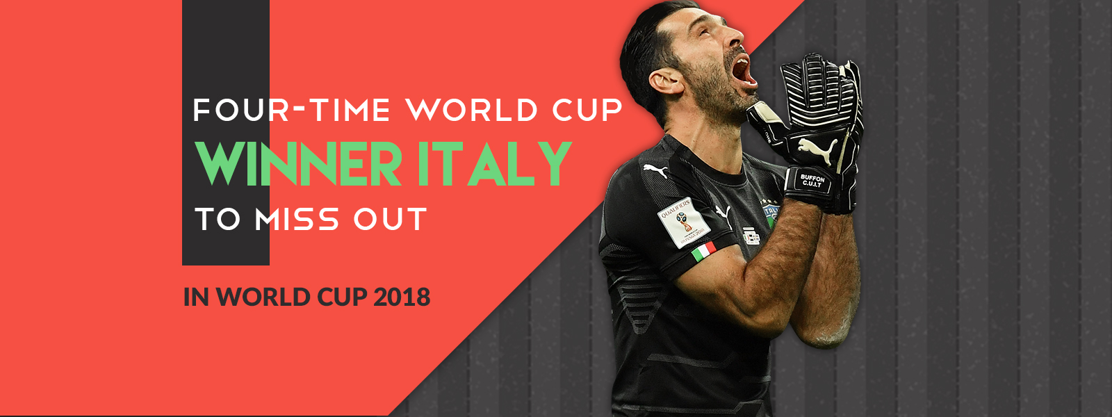 Four-time World Cup Winner Italy To Miss Out In World Cup 2018