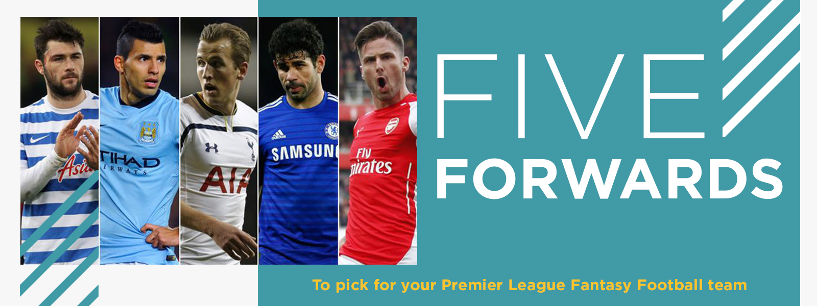 Top 5 Forwards For Your Fantasy Premier League Football Team