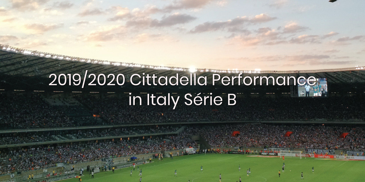 Cittadella Performance in 2019/20 Italy Serie B